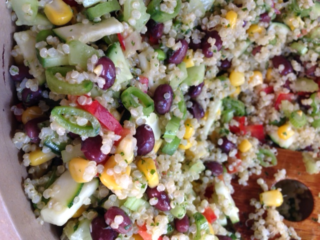mexican quinoa salad_mamamandy